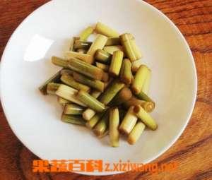 蒜苔的腌制方法